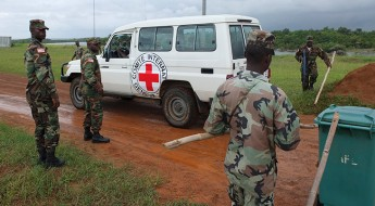 Protecting health care: Liberian Army sets example