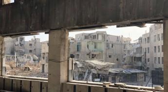 من داخل الغوطة الشرقية المدمرة، صور تتكلم