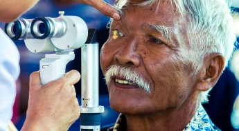 Cataract patients rediscover the brighter side of life in Buru Islands