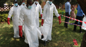 Ethiopia: Management of the dead training to first and emergency responders.