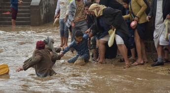 Yemen: las inundaciones causadas por lluvias torrenciales hacen estragos en un país asolado por la guerra