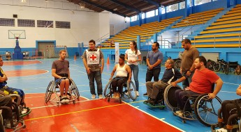 Guatemala: wheelchair basketball players improve their skills in a week-long camp