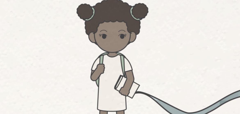Одна в зоне конфликта: история пятилетней девочки