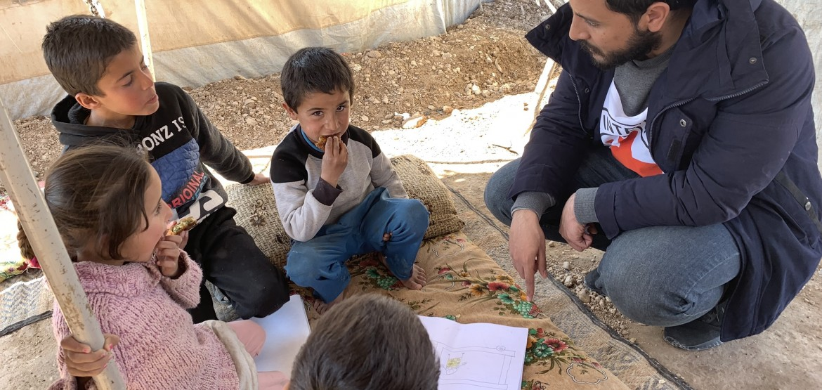 Operational update on Syria: 6,500 meals a day; helping vulnerable unaccompanied children
