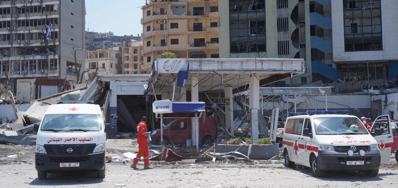 المؤتمر الدولي لدعم بيروت والشعب اللبناني