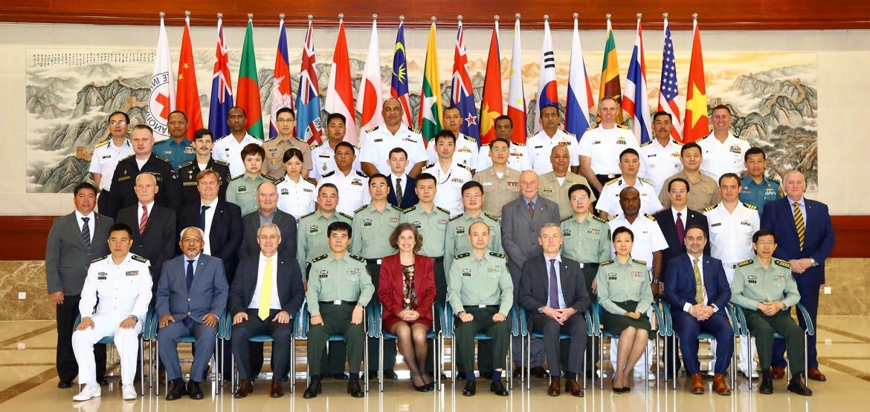 亚太地区海上武装冲突法研讨班首次在中国举办