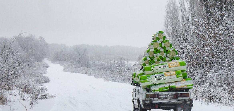 Украина: зима на линии соприкосновения
