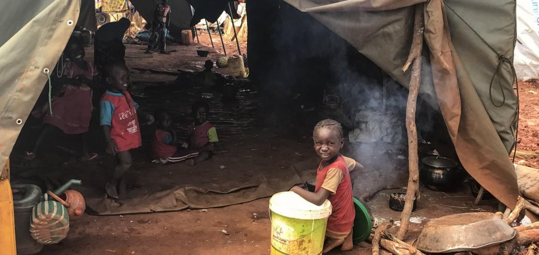 Atualização das operações na República Centro-Africana: a situação continua preocupante para milhares de deslocados que fogem da violência em Birao
