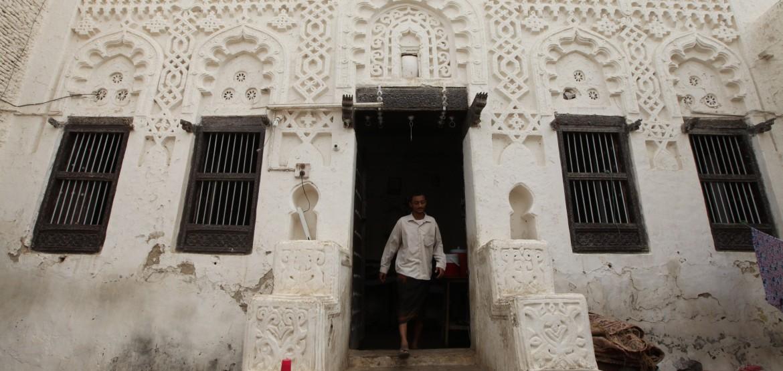 也门:战火逼近,古城的伊斯兰建筑面临危险
