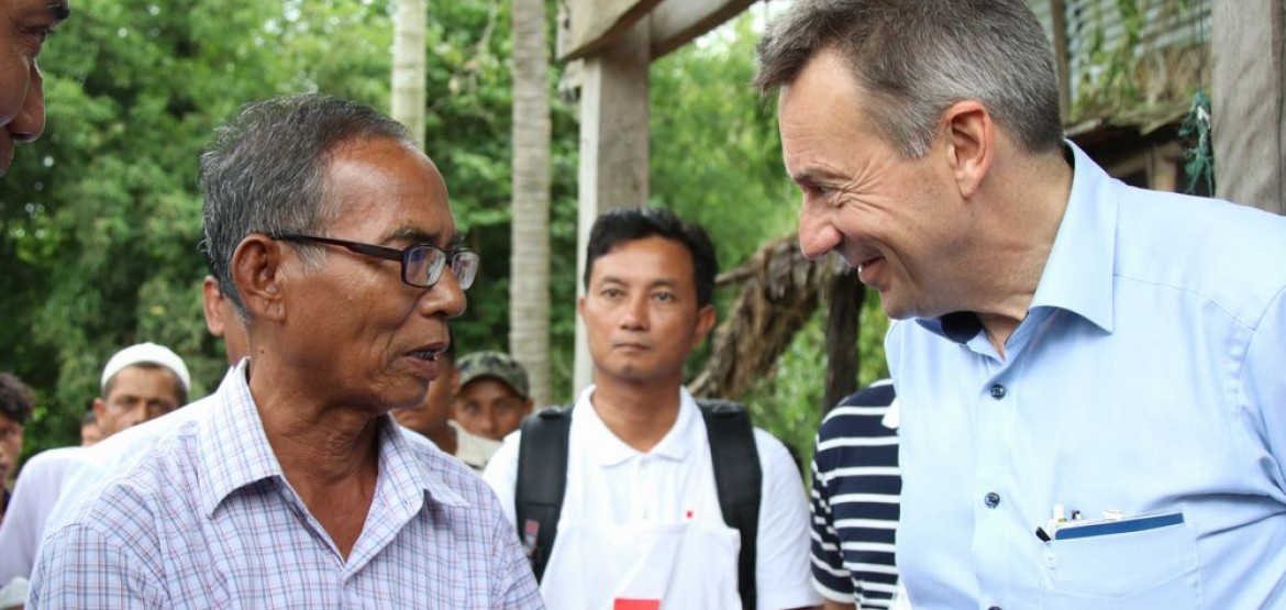 "ICRC President Peter Maurer calls Bangladesh-Myanmar crises ""lose-lose situation for people"""
