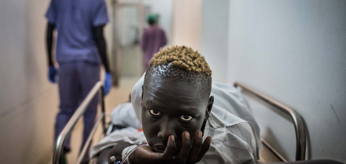 South Sudan: 29 people suffering gunshot wounds from clashes evacuated by air to Juba