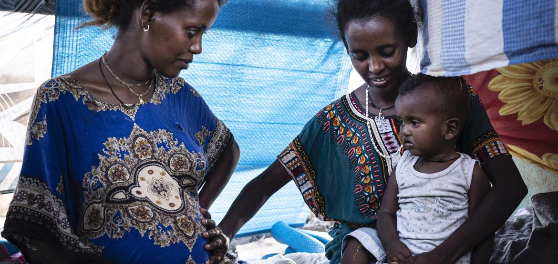 Fotos e histórias de refugiados etíopes que fugiram de Tigray para o Sudão