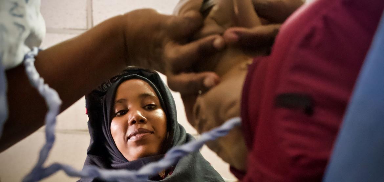 Être sage-femme en Somalie