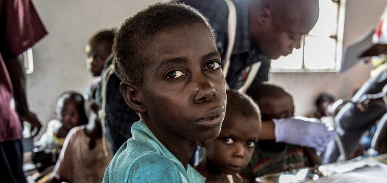 La violencia entre las comunidades y la malnutrición azotan Tanganica, en la República Democrática del Congo