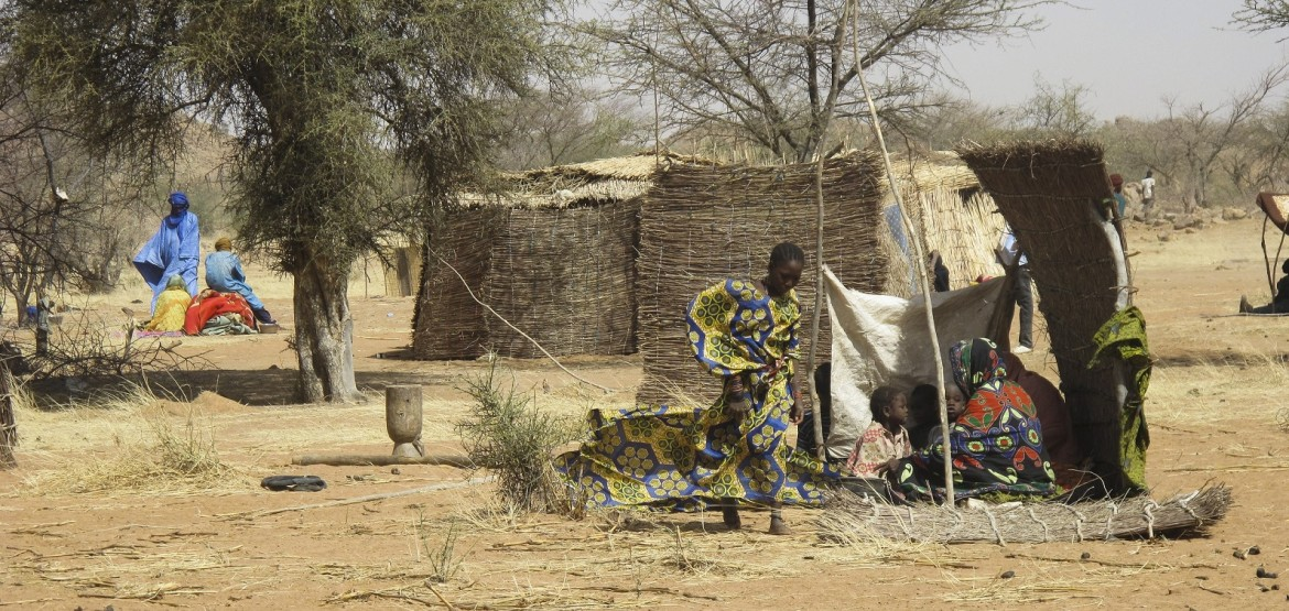 Helping vulnerable displaced people in Burkina Faso