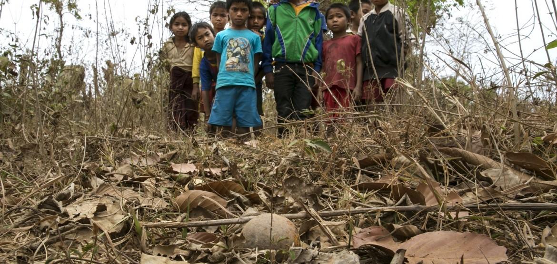 集束弹药:对平民造成持久性严重影响