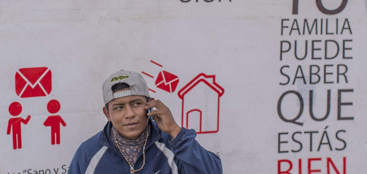 Mexico: Migrants using WhatsApp can get advice on how to stay safe and avoid illness, sickness
