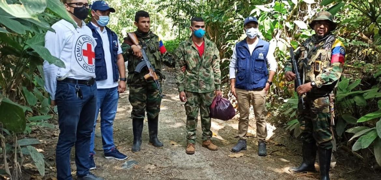 Colombia: liberación de un soldado en Norte de Santander