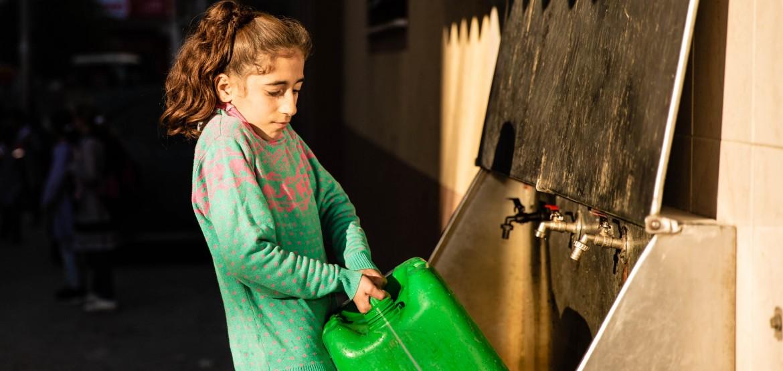 Gaza : la crise de l'eau image par image