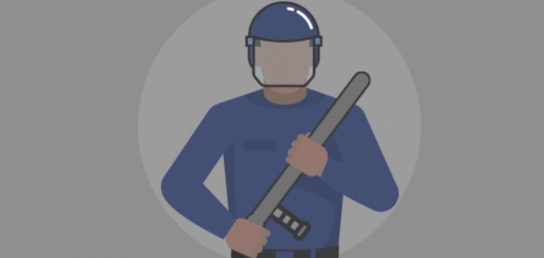 Применение оружия во время операций по поддержанию правопорядка