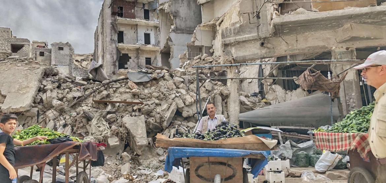 Celebrar Ramadán en medio de la destrucción de Alepo