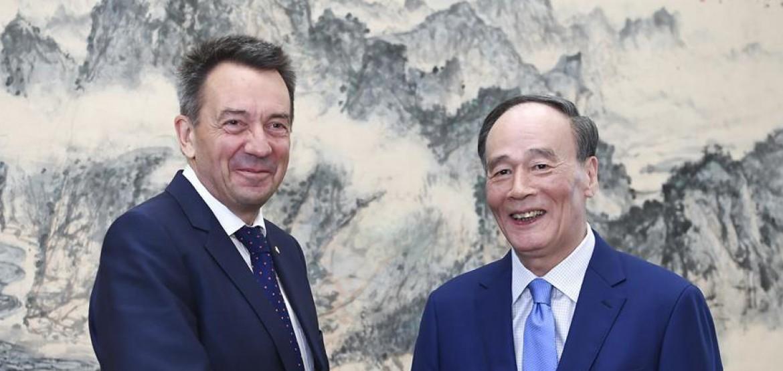红十字国际委员会主席呼吁中国全球治理工作加强关注人道领域