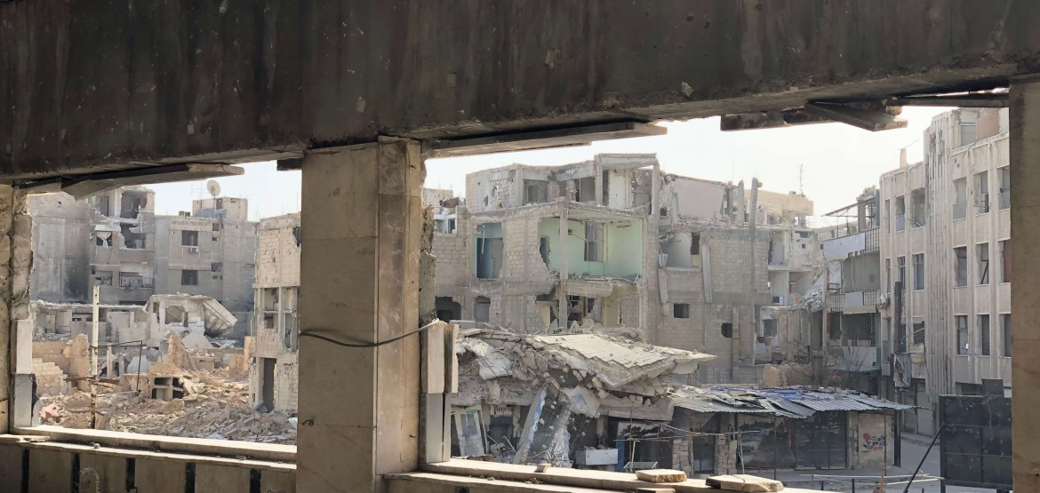 Amid the destruction in Eastern Ghouta, photos speak volumes