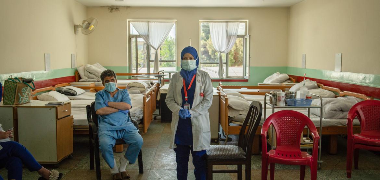 Afganistán: millones de personas en riesgo por pico de violencia contra los servicios de salud en medio de la pandemia de COVID-19