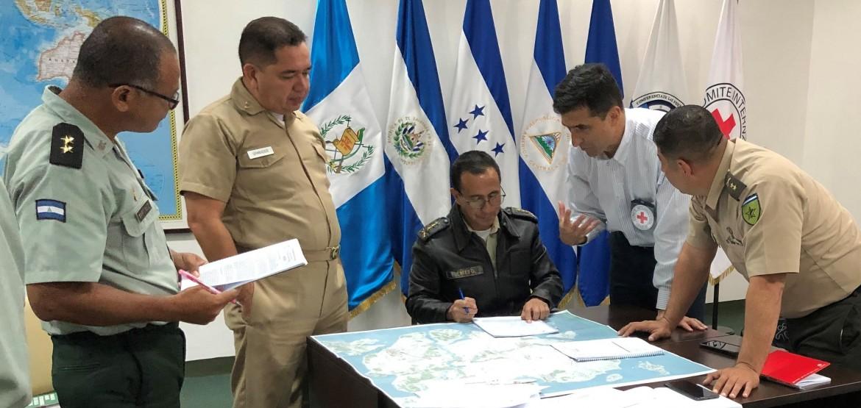 México y América Central: Fuerzas Armadas y de Seguridad, parte de la respuesta de los Estados frente a la COVID-19