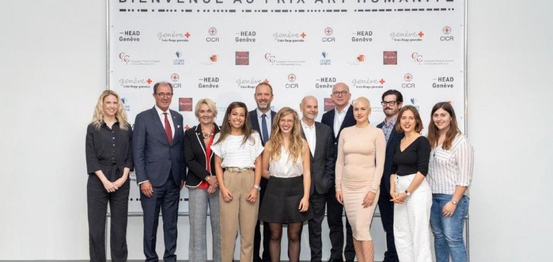 Maëva Weissen a remporté le Prix Art Humanité