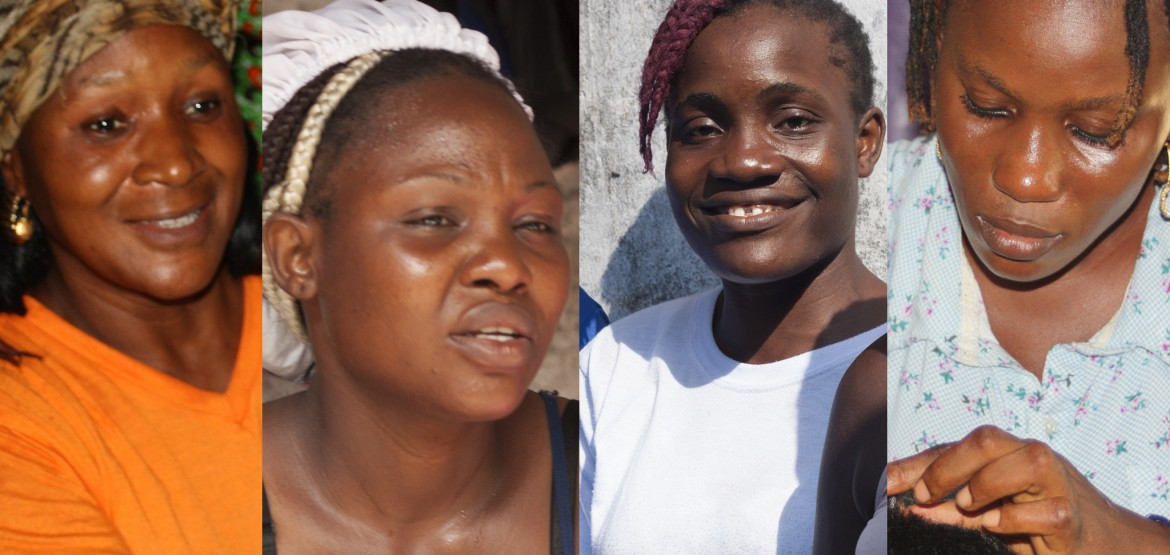Liberia: Praise, Joanne, Grace, and Gifty share their stories of courage and determination