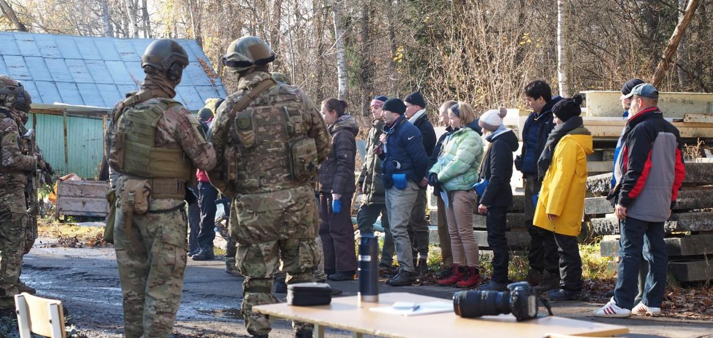 Курс для журналистов по безопасности в экстремальных ситуациях