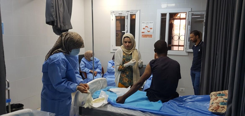Libye : un centre de santé poursuit sa mission sur la ligne de front