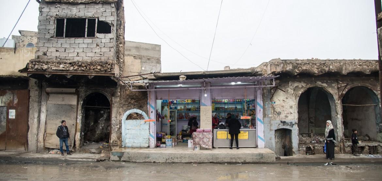 المشاريع الصغيرة تعيد الحياة إلى شوارع الموصل