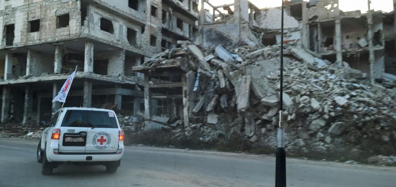 城市中的爆炸性武器:必须终止平民遭受的破坏与苦难
