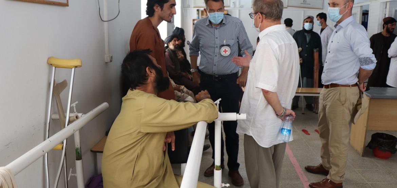 Выступление президента МККК Петера Маурера на совещании по гуманитарной ситуации в Афганистане