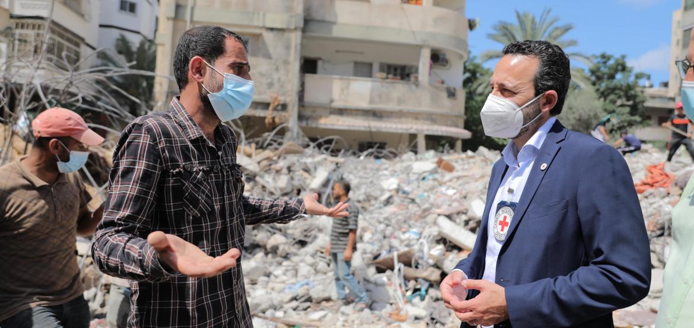 Заявление генерального директора МККК Роберта Мардини по итогам визита в Израиль и на оккупированные палестинские территории