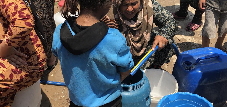 叙利亚的供水危机:历经十年战争后,饮用水量减少40%