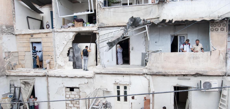 """""""Mit eigenen Worten"""": Wie der Konflikt in Syrien das Leben junger Menschen auf den Kopf gestellt hat"""