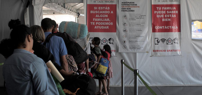 La Cruz Roja intensifica su apoyo a las personas migrantes venezolanas, incluidas las refugiadas, en 17 países de América