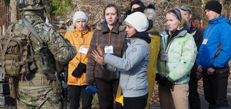 Основы безопасности для журналистов в зонах чрезвычайных ситуаций и вооруженных конфликтов