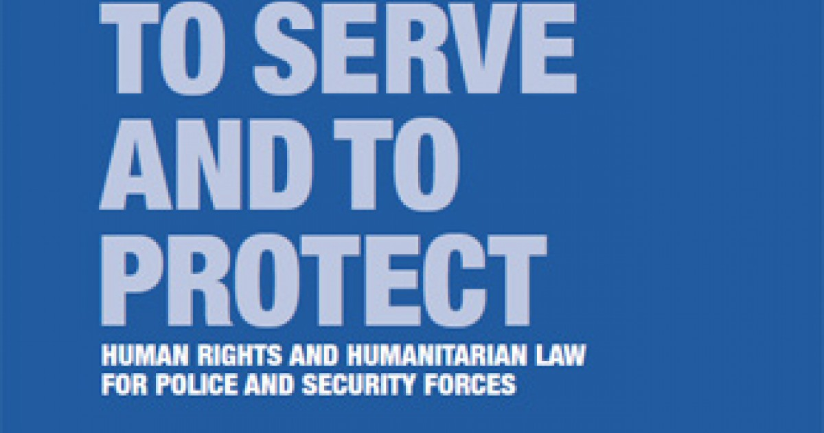 role of police in human rights pdf