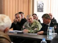 Грузия: рабочее совещание с командирами военных подразделений, участвовавших в вооруженных конфликтах в 90-х гг. и августе 2008 г.