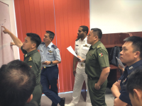 Brunei: Senior military officers enhance practical knowledge of IHL