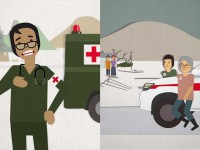 The red cross, red crescent and red crystal. What do they mean? In one word: protection