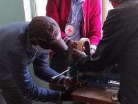 Ethiopia: ICRC supports local manufacture of face shields