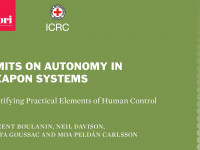 Limits on Autonomy in Weapon Systems