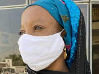 Displaced by an attack in north-east Nigeria, now a woman leader