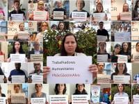 Movimiento Cruz Roja Media Luna Roja con una sola voz: los trabajadores humanitarios #NoSonUnObjetivo