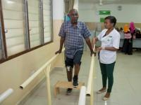Tanzânia: um passo mais na reabilitação física